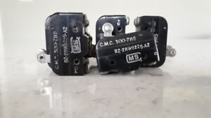Air solenoids and microswitches