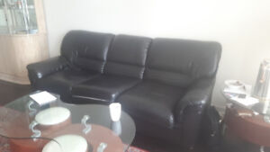 Black couches for sale great deal $500