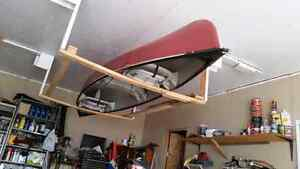 16 foot canoe, like new as used 3 times