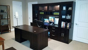 7 piece Sauder Home Office Collection