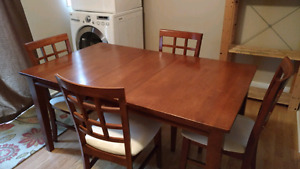 Kitchen Table with 4 Chairs. $225