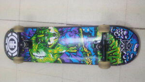 Element Pro skateboard build. Barely used. In working condition