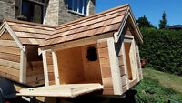 Dog Houses (professionally made to function)