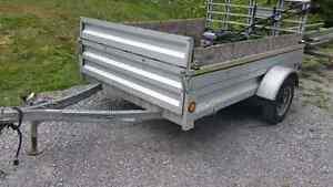 Aluminum trailer 8x5 $550