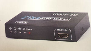 Brand New HDMI Splitter box HD 1×4