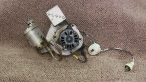 Findlay stove blower and carburetor assembly