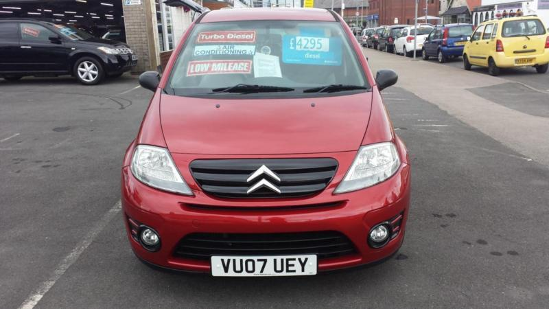 2007 CITROEN C3 1.6 HDi Diesel 16V VTR From GBP3,495 + Retail Package