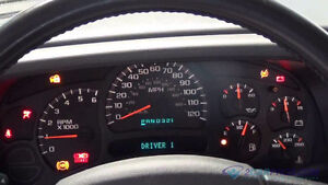2003 -2007 GMC, Chevy & Most SUV's, Instrument cluster repairs
