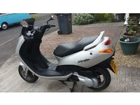 125 scooter (spares or repair) mot till June 21st