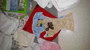 Large lot of fuzzibunz diapers and accessories  Sarnia Sarnia Area image 5