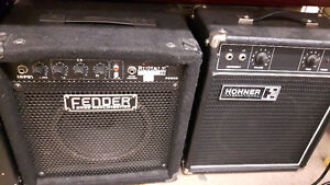 Amps of all watts including bass amps