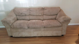 3 seater Suede couch