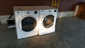 Matching Stackable Maytag Washer & Dryer