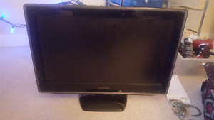 Toshiba 22 inch lcd with built in dvd player