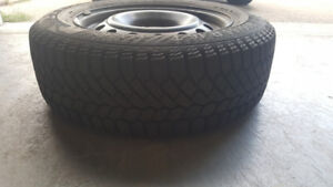 brand new winter tires with rims  size 16