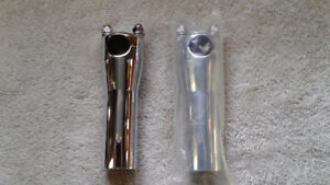 Chrome Risers for Harley and other Bikes