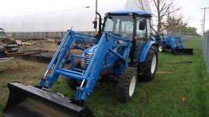 New XU5055C 55HP Cab Tractor and loader.