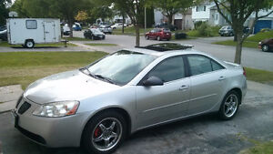 Pontiac G6, Very clean, No issues, New tires on alloy wheels.