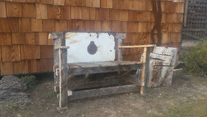 """Barnwood Bench  """"Priced To Sell"""""""