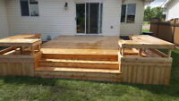 Professional Deck and Fence Building - St. Albert- Edmonton