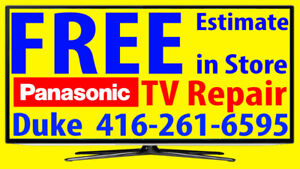 Panasonic TV repair LED HDTV, LCD TV, NO POWER, No Picture