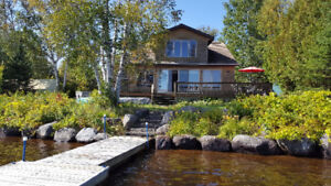 Lakefront Country Home in Lantier, Lac Ludger