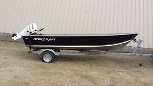 2015 16 ft Starcraft aluminum fishing boat