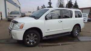07 ARMADA - FULLY LOADED - 4X4 - LEATHER 18'' RIMS ONLY104 MILES