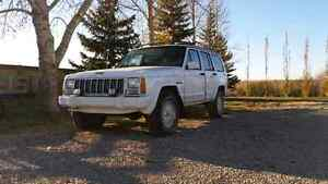 1991 Jeep Cherokee (with parts vehicle)