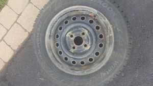 winter tires with rims for sale 4bolt West Island Greater Montréal image 3