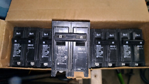 Eaton/Cuttler-Hammer 2 pole 15 amp breakers