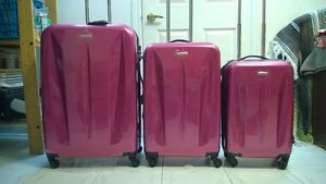 New Luggage - 3 Piece Samsonite Suitcase Set