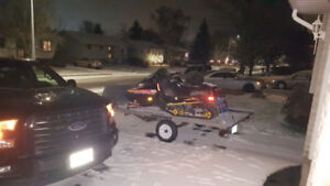 1997 Ski Doo and trailer for sale
