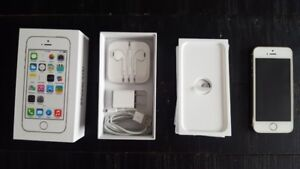 iPhone 5S - 32GB - Gold!  Gently Used.  Complete with Charger.