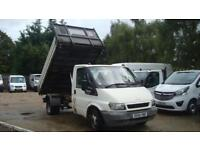 2004 FORD TRANSIT 2.4 TD 350 Single Cab TIPPER