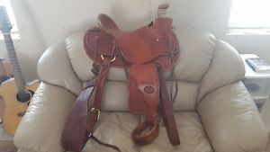 Excellent Condition Billy Cook Roping Saddle