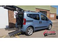 2011 Fiat Qubo 'Switch' Up Front Passenger & Driver Transfer Wheelchair Access
