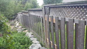 FENCE PANELS FOR SALE GOOD CONDITION