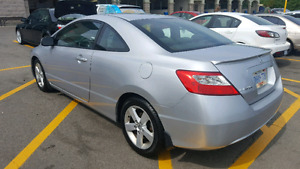 2009 Civic Coupe low mileage only 65,000km sunroof