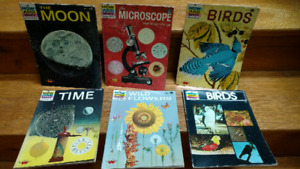 6 The How and Why Wonder Book of... series information books