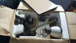 NIB photo enlarger with extras