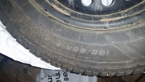 195/65R15 set of 4 on rims