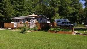 Cottage Lake Mindemoya leased land