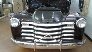 My Vintage  Classic 52 chev panel done to original  NICE