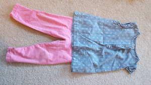 18 mths girls outfit carters