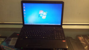 Used toshiba C650D Laptop with Webcam, DVD& Wireless,Can Deliver