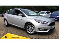 2015 Ford Focus 1.5 TDCi 120 Zetec (Nav) 5dr Manual Diesel Hatchback
