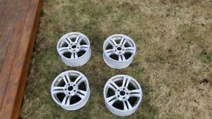 4 mags BMW  17 pouces