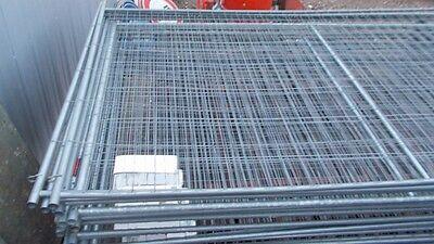 Bauzaun Bauzäune Zäune Baustellenabsicherung Mobilzaun mit Füßen
