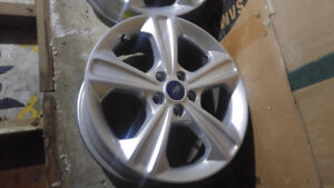"Ford 17""OEM alloy rims for sale."